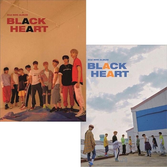 2nd Mini Album 2 Ver SET 2CD+2ea PhotoBook+4p PhotoCard SEALED BLACK HEART UNB