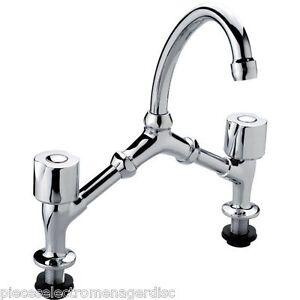 robinet m langeur lavabo vier 2 trous t te clapet entraxe 150 240 mm ebay. Black Bedroom Furniture Sets. Home Design Ideas