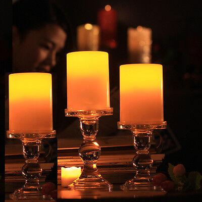 Bulk Flameless Tea Lights (3Pcs Flameless Candles Flickering Christmas LED Tea Lights with 6 Hour)
