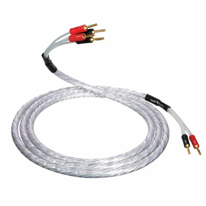 QED+XT25+BiWire+Speaker+Cable+3.0m+Length+-+4+to+4+ABS+Airloc+Wide+Spades