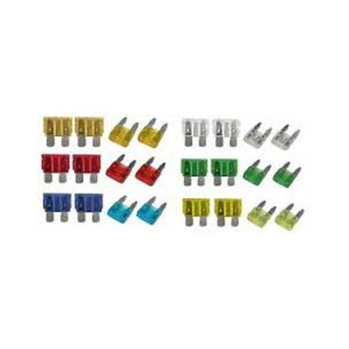 Lexus IS200 SALOON CAR BLADE MINI STANDARD FUSE BOX KIT 5 10 15 20 25 30 AMP