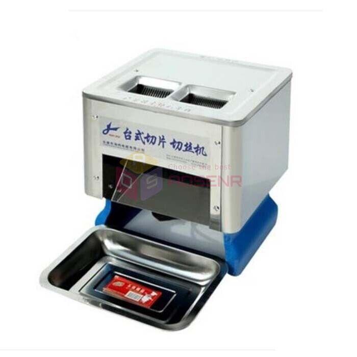 Desktop Electric Meat Slicing Shredding Cutting Machine and Meat Cutter Slicers