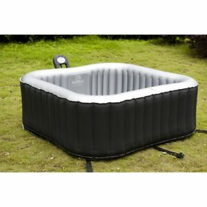 Alpine 6 person inflatable hot tub