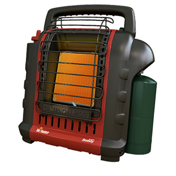 NEW Mr. Heater F232000 MH9BX Buddy 4,000-9,000-BTU Indoor-Sa