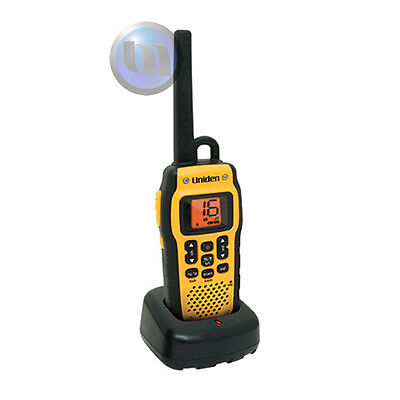 NEW Uniden VHF Marine Handheld Radio Floats - Waterpro