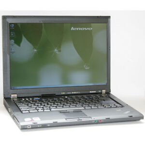 IBM Laptop ThinkPad T60 DualCore DVDRW 1GB RAM 60GB HDD WiFi 15""