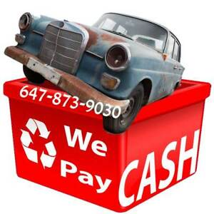 ◆◆ TOP CASH FOR JUNK CARS ◆ Get Up to $2,200 ◆ 647-873-9030