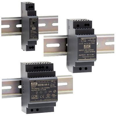 Hutschienen Netzteil MeanWell HDR-Serie ; DIN-Rail Trafo Schaltnetzteil