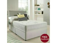 🎆💖🎆FAST SELLING BRAND🎆💖🎆 SINGLE / DOUBLE / KING SIZE DIVAN BED WITH + MATTRESS & SAME DAY