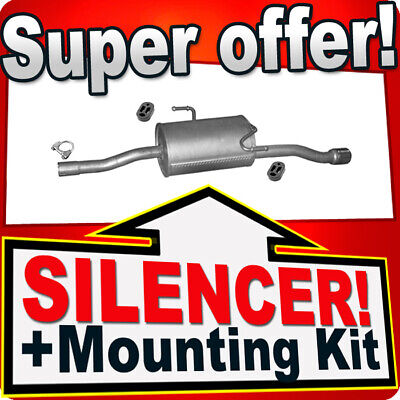 1x KLARIUS OE Quality Replacement Rear End Silencer Exhaust For VW Petrol