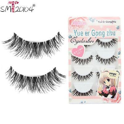 5 Pair/Lot Crisscross False Eyelash Lashes Voluminous HOT Natual eye lashes set