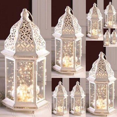 10 Large Distressed Lantern Moroccan Candleholder Wedding Centerpieces 16