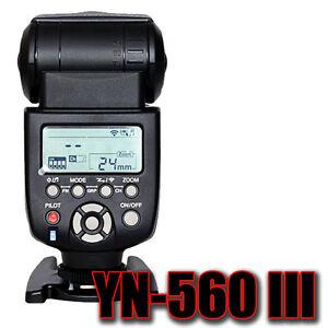 Yongnuo 560 III YN 560 iii Aufsteckblitz Slaveblitz Flash für Canon DSLR Kamera