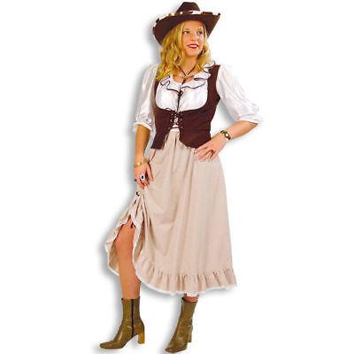 Saloon Girl (Damen-Kostüm Western-Lady Saloon Country Girl Westernparty Cowgirlkostüm   )