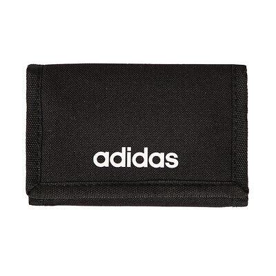 Adidas Linear Core Logo Trifold Wallet Black FL3650