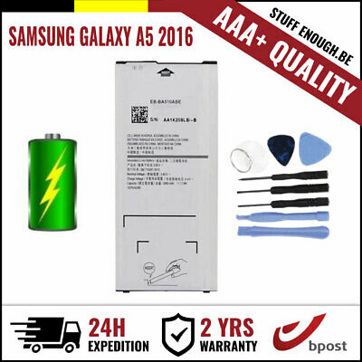 AAA+ REPLACEMENT BATTERY/BATTERIJ/BATTERIE +TOOLS FOR SAMSUNG GALAXY A5 2016