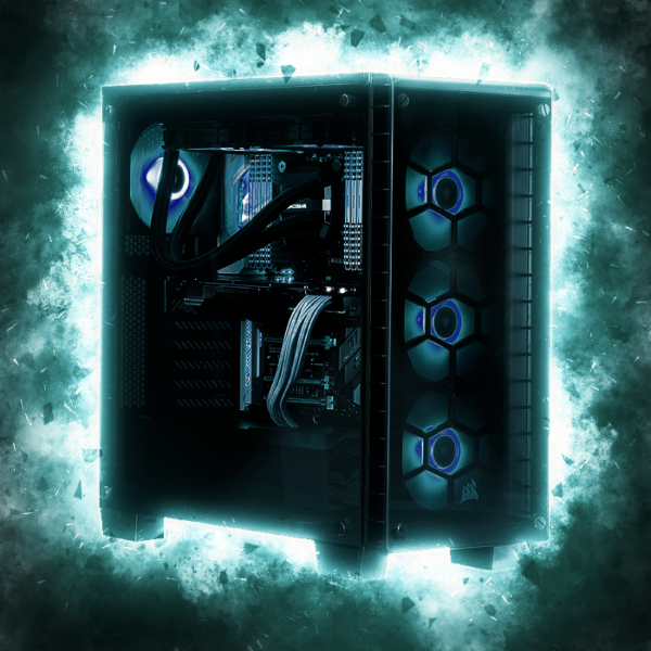 Windstorm Gaming PC - i7-8700K, 16GB, 250GB NVMe   2TB, GTX1080Ti