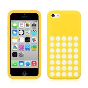 For Sell Yellow iPhone5C ULTRA THIN Slim Rubber Silicone Gel Cas