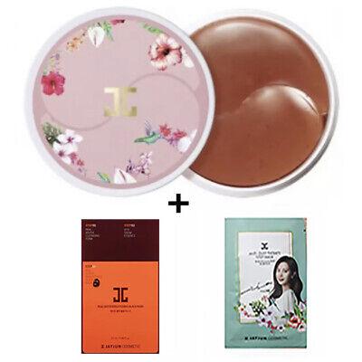JAYJUN Roselle Tea Eye Gel Patch Eye Care (1box 60sheets)+mask 2pcs