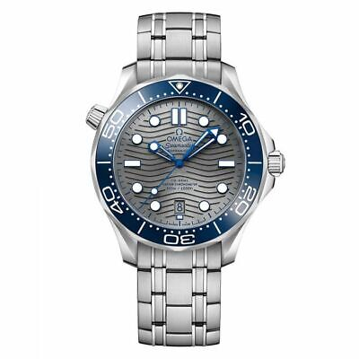 OMEGA SEAMASTER DIVER CO-AXIAL BLUE DIAL 42MM Men's WATCH 210.30.42.20.06.001