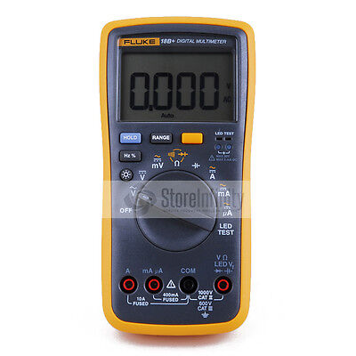 Latest Fluke 18b Plus Ac Dc Voltage Current Digital Multimeter Dmm