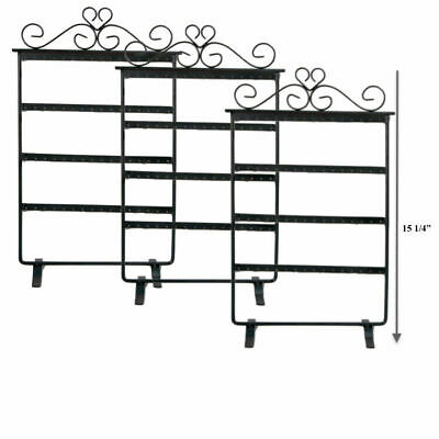 4pc Earring Display Stands Metal Earring Display Holders Can Hold Up To 32 Each