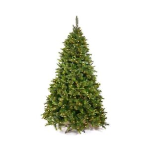 7' PRELIT CHRISTMAS TREE WITH 350 CLEAR LIGHTS