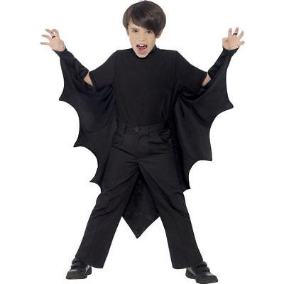 Kinder-Kostüm, Fledermaus-Umhang Einheitsgröße Fledermauskostüm