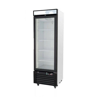 1 Glass Door Merchandiser Refrigerator Cooler Migali C-10rm-hc New 9622 Nsf