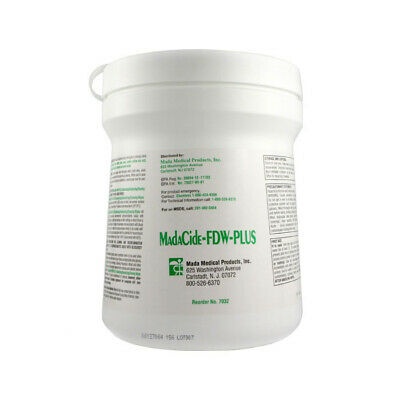 Tub of Madacide-FD Wipes - Medical Grade Infection Control