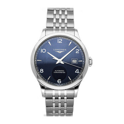 Longines Record Collection Auto Steel Mens Bracelet Watch Date L2.821.4.96.6