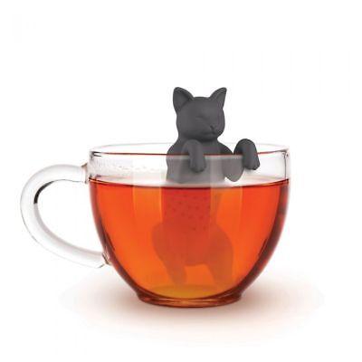 Fred & Friends Purr Tea Cat Tea Infuser Kitty Cute Gift Loose Leaf Leaves Steep ()