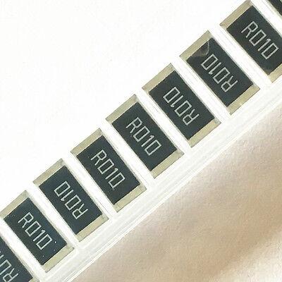 10pcs 2512 Smd Alloy Resistor R010 -r091 0.01r 0.091r 0.05r 0.33r R020 1w 1