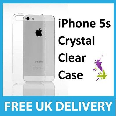 Crystal Clear Case Cover for iPhone 5S / 5 - Best Ultra Hard thin Quality