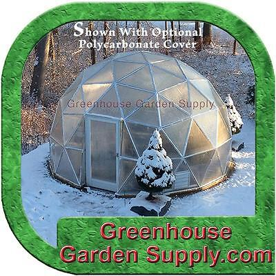 GREENHOUSE  GEO-DOME 16 FT.  with 3/4