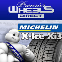 205/55R16 MICHELIN X-ICE XI3--WHEELS DIRECT---$161.70 PER TIRE