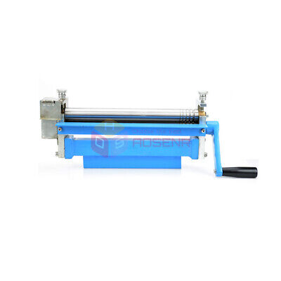 Manual Stainless Steel Plate Bending Round Drum Winding Rolling Machine Rolls