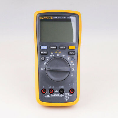 Fluke 17b Auto Range Digital Probe Multimeter Meter Temperature Frequency
