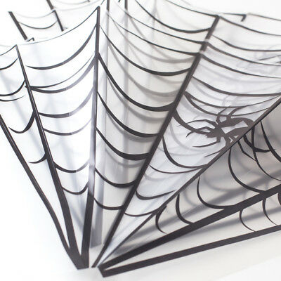4 Pack of Halloween Spider Web Decorations White Stretchable Cobwebs Party - Stretchable Spider Web Halloween Decorations