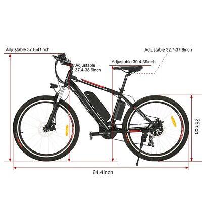 500W 26INCH Electric Bike Mountain Bicycle E-Bike & 12.5Ah Lithium-Ion Battesd (New - 9999.99 USD)