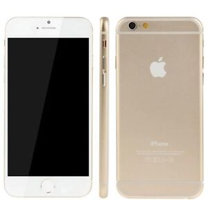 IPHONE 6 WHITE & GOLD - 16G
