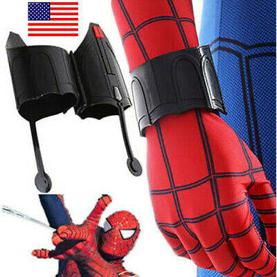 US SHIP Spider-Man Homecoming Web Shooter Superhero Peter Parker Cos - Spider Man Web Shooters