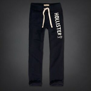 Hollister Navy Blue Sweatpants