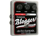 E.H bass blogger overdrive/fuzz pedal