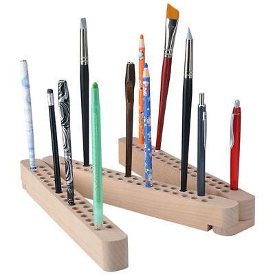 NEU Stifte- und Pinselhalter aus Holz, klappbar