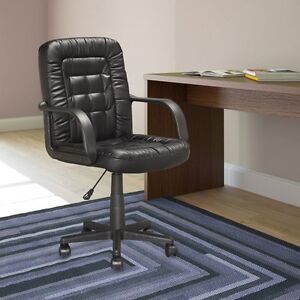 SALE! New Executive Office Chair in Black Leatherette