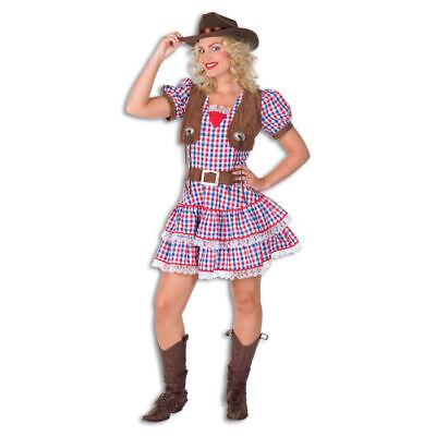 Damen-Kostüm Cowgirl Betty Wild West Westernkostüm Sheriff    (Wild West Cowgirl Kostüm)