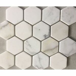40% off on marble mosaics in hexagon style