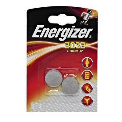 2  piles energizer cr2032 3 volt  lithium