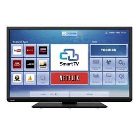 "40"" Toshiba Smart Wi-Fi FullHD LED TV with original box - Delivery Available"